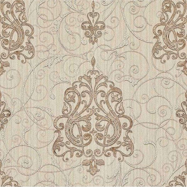 Picture of Dis Zeno Beige Damask Wallpaper