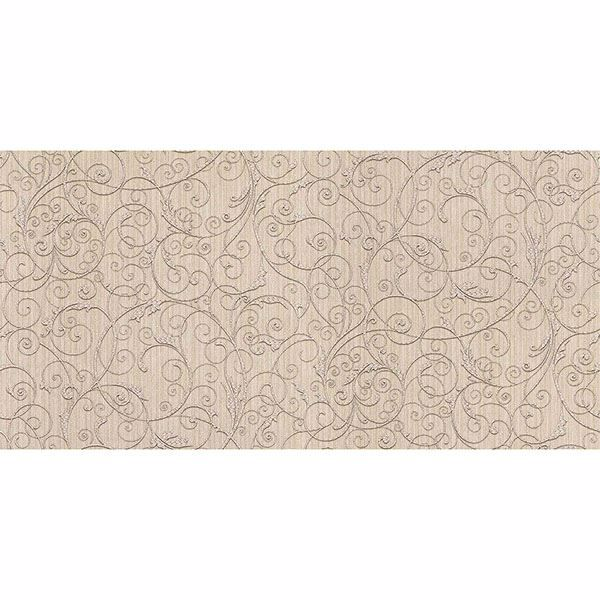 Picture of Coord Zeno Beige Scroll Wallpaper
