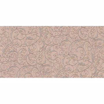 Picture of Coord Zeno Blush Scroll Wallpaper