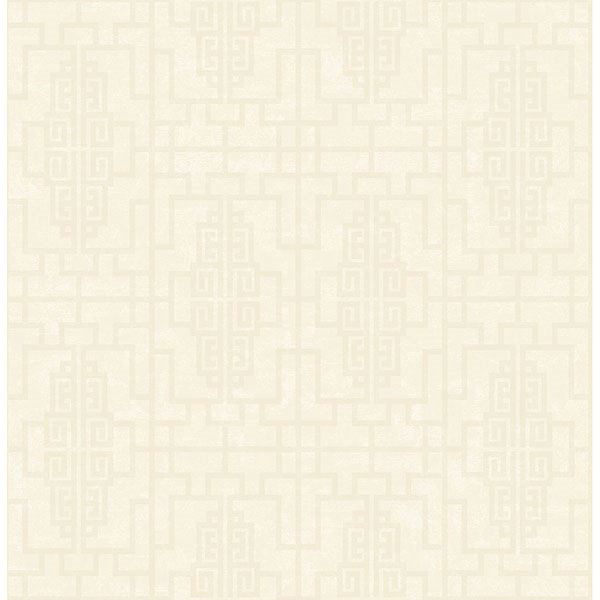 Picture of Umaid Neutral Geometric Wallpaper
