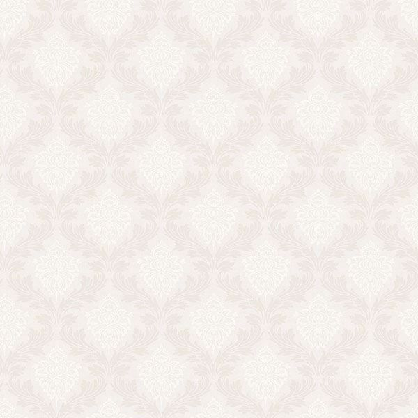 Picture of Windsor Off-White Ogee Wallpaper