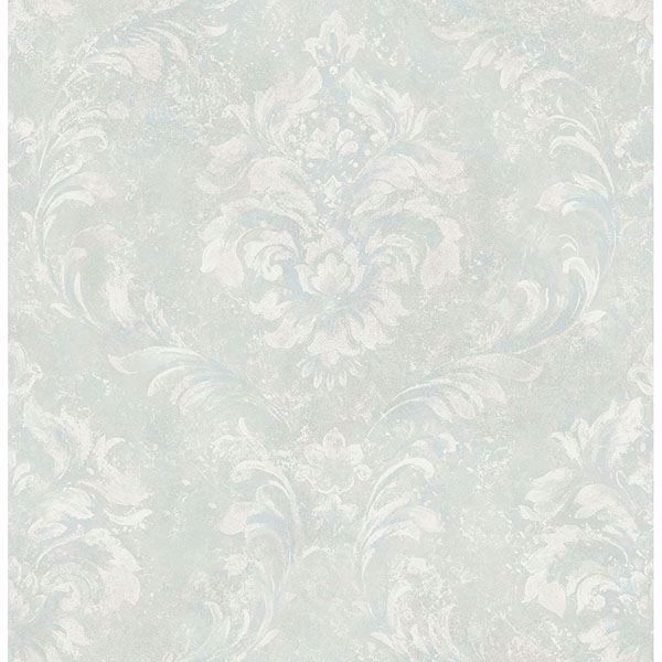 Picture of Hofburg Sage Damask Wallpaper