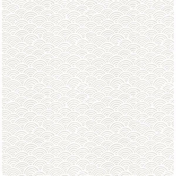 Picture of Sandur Grey Waves Wallpaper