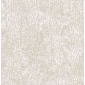 Picture of Annecy Beige Moire Texture Wallpaper