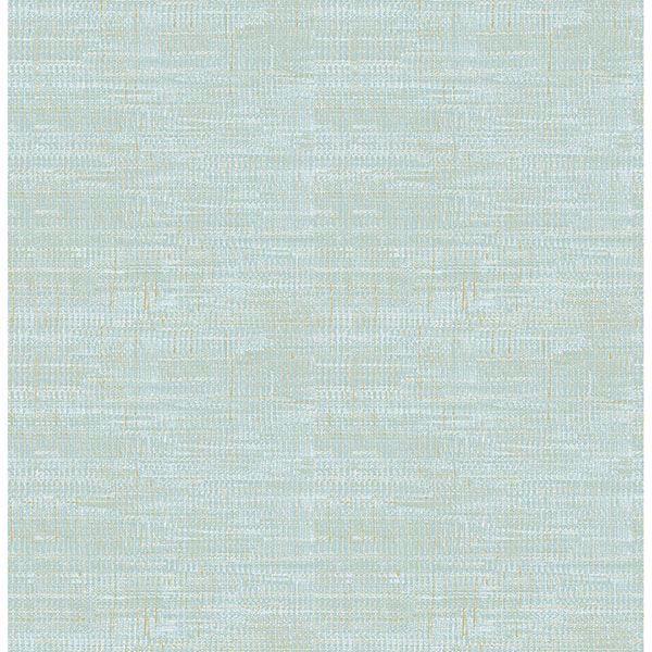 Picture of Chartres Aquamarine Screen Texture Wallpaper