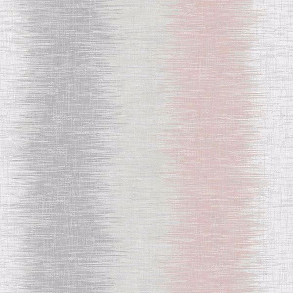 Picture of Winchester Grey Abstract Stripe Wallpaper