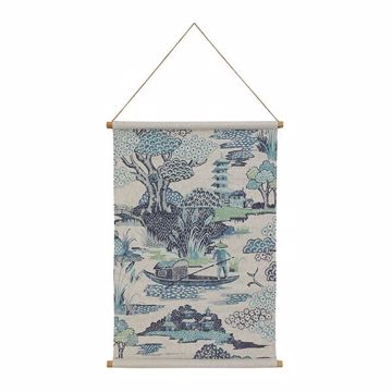 Picture of Chinoiserie Hanging Linen Tapestry