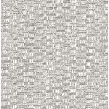 Picture of Grey Poplin Texture Peel and Stick Wallpaper