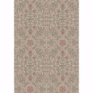Picture of Rosenvinge Light Brown Ironworks Wallpaper