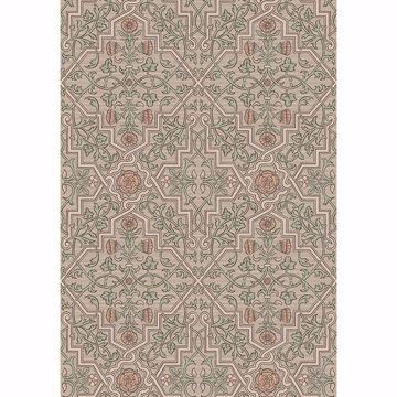 Picture of Rosenvinge Light Brown Ironworks Wallpaper