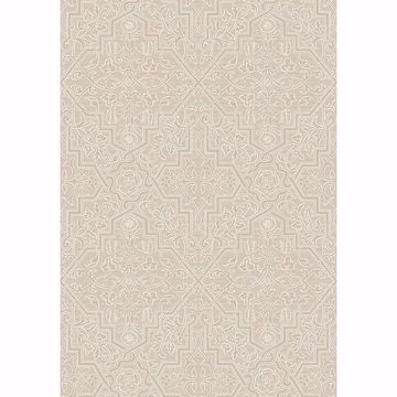 Picture of Rosenvinge Beige Ironworks Wallpaper