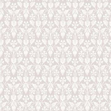 Picture of Nora Light Grey Ogee Wallpaper
