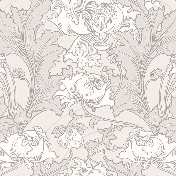 Picture of Siri Grey Floral Wallpaper