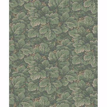 Picture of Waldemar Green Foliage Wallpaper