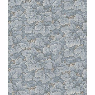 Picture of Waldemar Light Blue Foliage Wallpaper