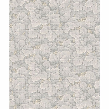 Picture of Waldemar Grey Foliage Wallpaper
