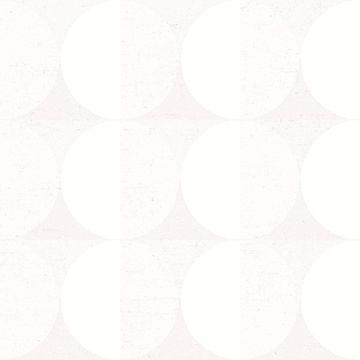 Picture of Sahara Moon Ivory Geometric Wallpaper