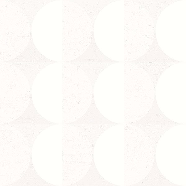 Picture of Sahara Moon Ivory Geometric Wallpaper