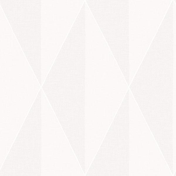 Picture of Zack Light Grey Diamond Wallpaper
