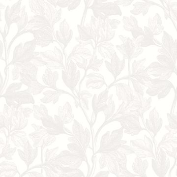 Picture of Fig Ivory Botanical Wallpaper