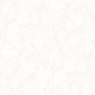 Picture of Fig Silver Botanical Wallpaper