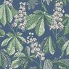 Picture of Chestnut Blossom Slate Floral Wallpaper