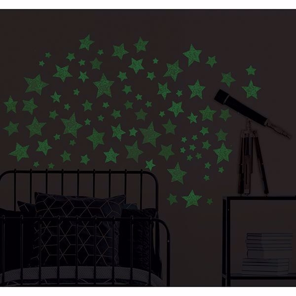 Picture of Star Struck Glow in the Dark Wall Art Kit