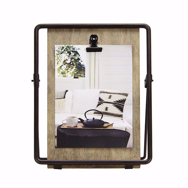 Picture of Knox Wood and Iron 4x6 Clip Picture Frame