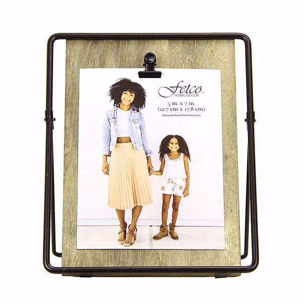 Picture of Knox Wood and Iron 5x7 Clip Picture Frame