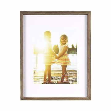 Picture of Nolan Rustic 8x10 Matted Gallery Picture Frame