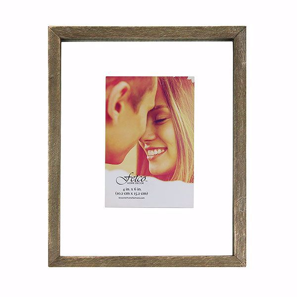 Picture of Nolan Rustic 4x6 Floating Gallery Picture Frame