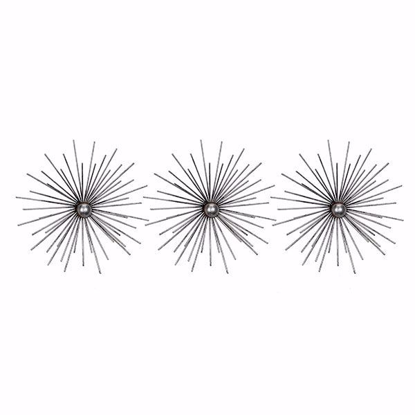 Picture of Cabers Silver Metal Starburst Set