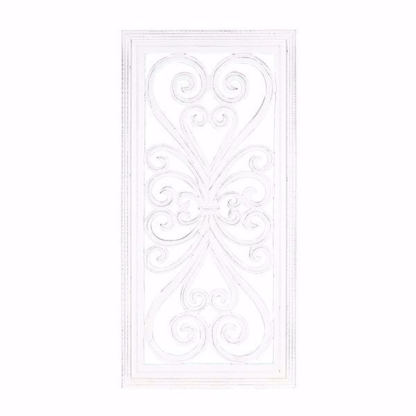 Picture of Mia White Carved Panel