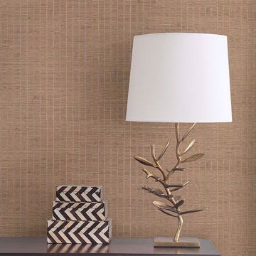Picture of Xiao Hong Light Brown Grasscloth