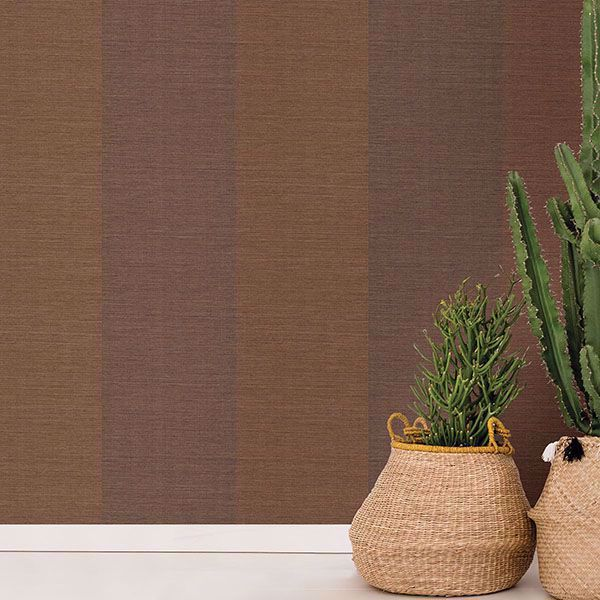 Picture of Yi Ze Brown Grasscloth