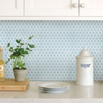 Picture of Penny Tile Peel & Stick Backsplash