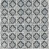 Picture of Seville Black Geometric Tile Wallpaper