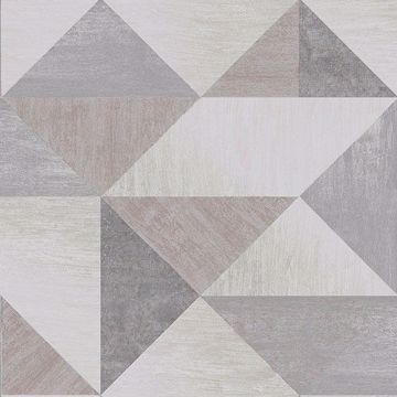 Picture of Exeter Grey Geometric Wallpaper