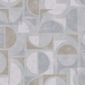 Picture of Hamar Neutral Geometric Wallpaper
