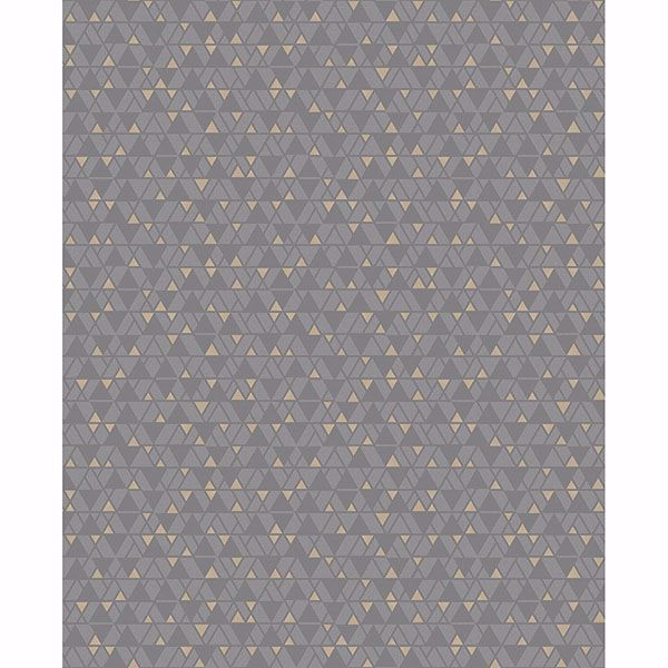 Picture of Rabat Taupe Geometric Wallpaper