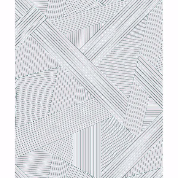 Picture of Preston Light grey Geometric Wallpaper