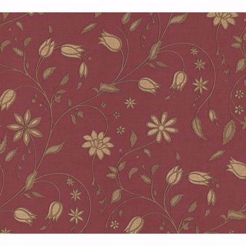 Picture of Jasmina Red Stylised Floral