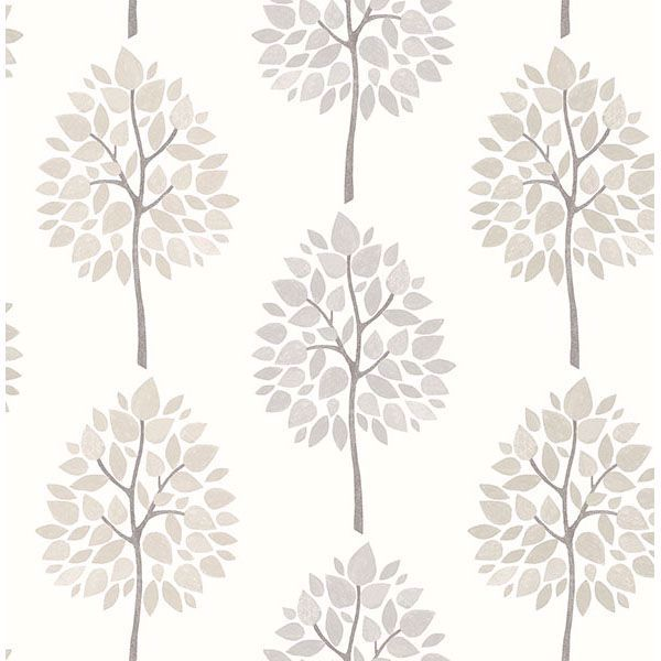 Picture of Tsai Grey Tree Wallpaper