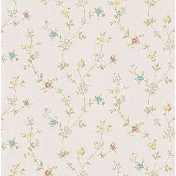 Picture of Sameulsson Cream Small Floral Trail Wallpaper