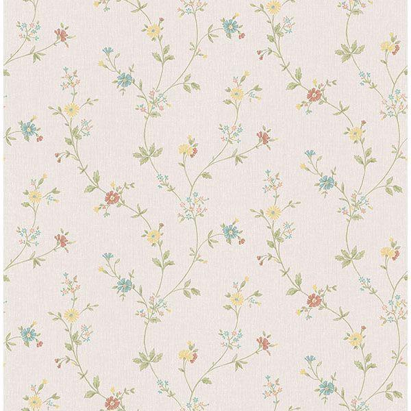 Picture of Sameulsson Cream Small Floral Trail Wallpaper