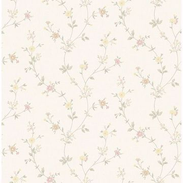 Picture of Sameulsson Eggshell Small Floral Trail Wallpaper