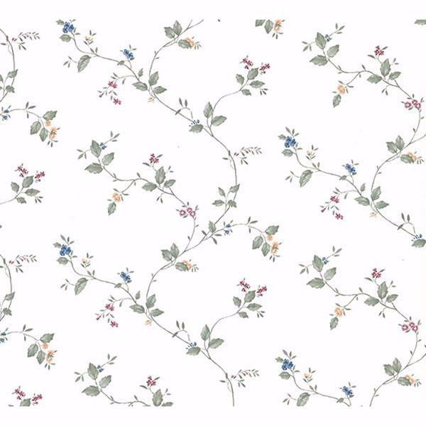 Picture of Ree Multicolor Mini Floral Trail Wallpaper