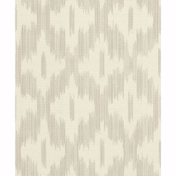 Picture of Keller Beige Ogee Wallpaper