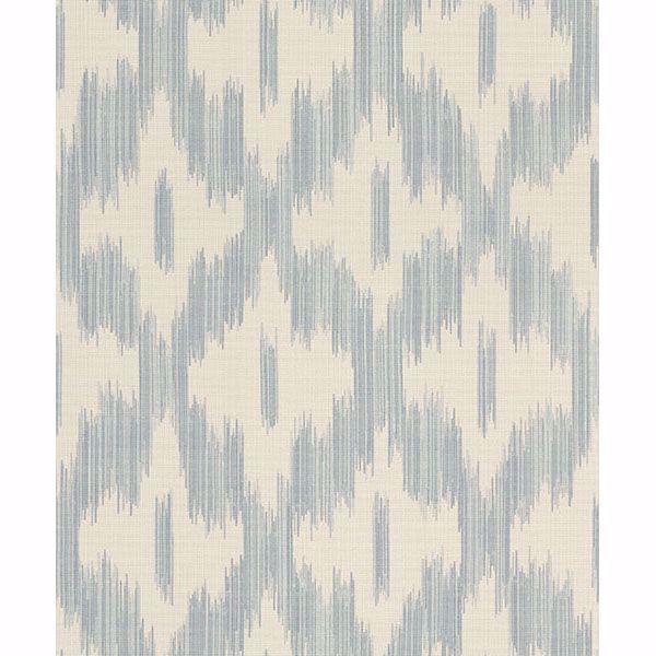 Picture of Keller Light Blue Ogee Wallpaper