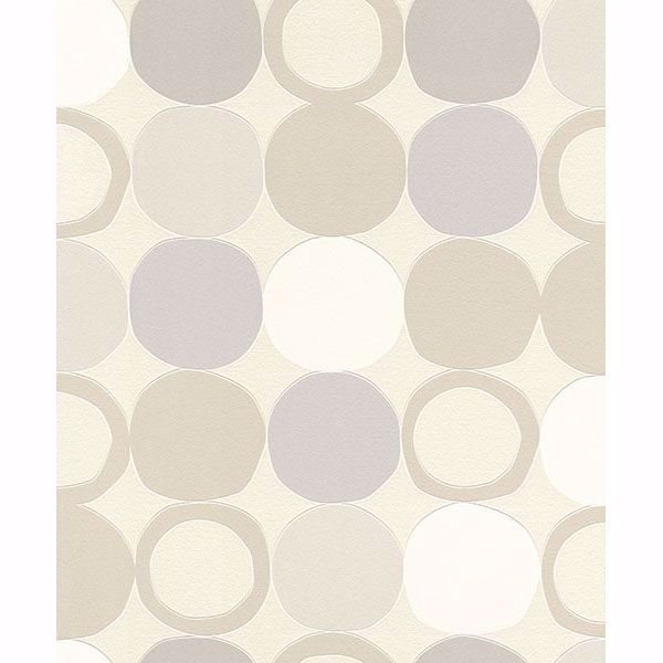 Picture of Beard Light Grey Geometric Wallpaper